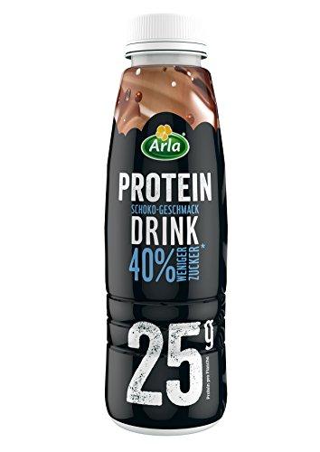 Arla Protein Drink mit Schoko-Geschmack, 8er Pack (8 x 479 ml)