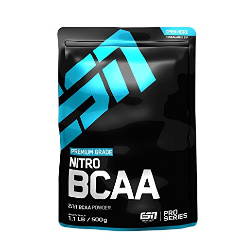 ESN Nitro BCAA Powder, Raspberry Ice-Tea, 500 g