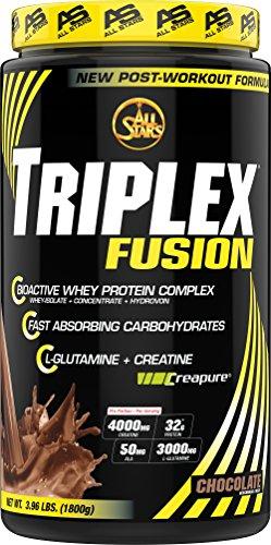 All Stars Triplex Protein-Creatin-Mix, Schoko, 1er Pack (1 x 1800 g)