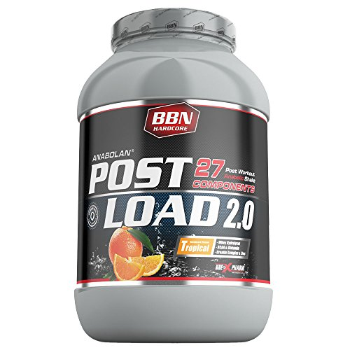 BBN Hardcore Anabolan Post Load 2.0 All-in-one Workoutshake Workout Training Bodybuilding, 1er Pack (1 x 1.8 kg)