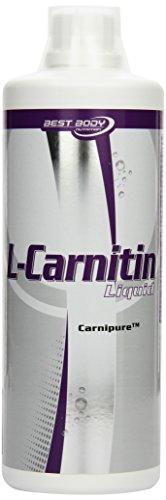 Best Body Nutrition L-Carnitin Liquid mit Carnipure, Limetten, 1er Pack (1 x 1000ml)