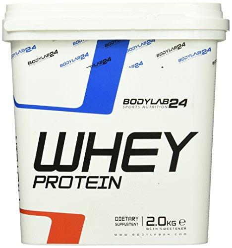 Bodylab24 Whey Protein Vanille 2000g mit Messlöffel
