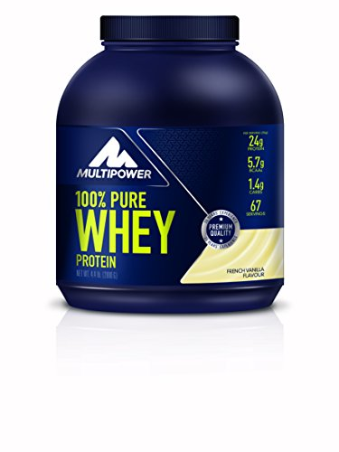 Multipower 100% Pure Whey Protein, French Vanilla, 2 kg