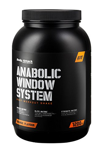 Body Attack Anabolic Window System, Orange, 1er Pack (1 x 1200g)
