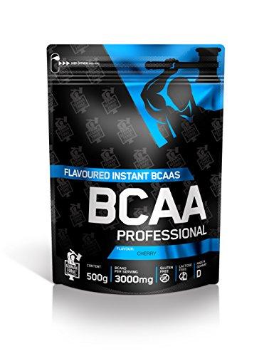 IronMaxx BCAA Professional - Kirsche, 1er Pack (1 x 500 g)