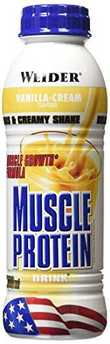 Weider, Muscle Protein Drink, Vanille, 1er Pack (6x 500ml)