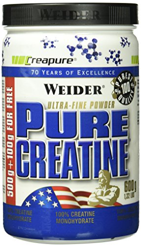 Weider, Pure Creatine, Neutral, 1er Pack (1x 600g)