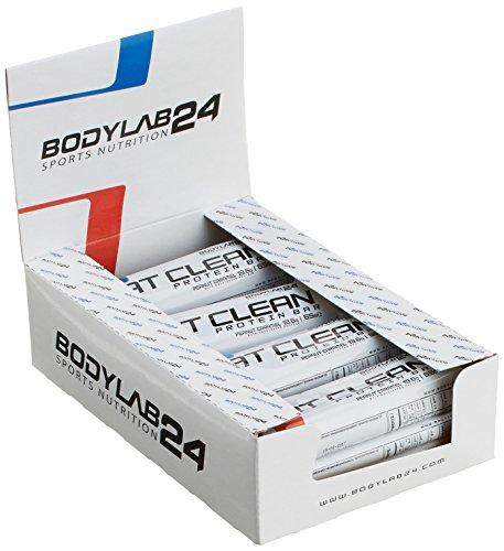 Bodylab24 Eat Clean Bar Erdnuss-Karamell (12 x 65 g)