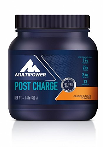 Multipower  Post Charge, Orange-Ginger, 1er Pack (1 x 650 g)
