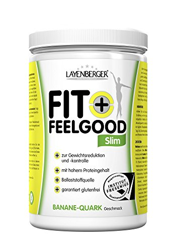 Layenberger Fit+Feelgood Slim Mahlzeitersatz Banane-Quark, 1er Pack (1 x 430g)