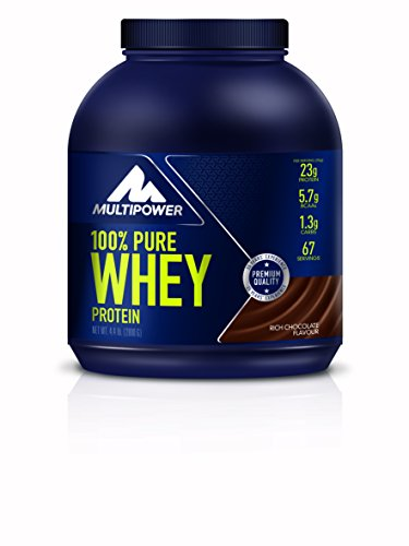 Multipower 100% Pure Whey Protein, Rich Chocolate, 2 kg