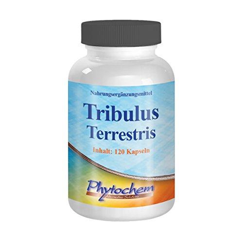 Phytochem Tribulus Terrestris Extrakt 120 Kapseln - Premium Qualität, 162 g