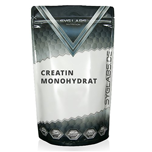 Syglabs Nutrition Creatin Monohydrat Pulver, 1er Pack (1 x 1 kg)
