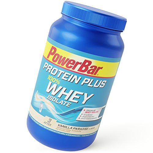 PowerBar Whey Protein 100% Isolate – Aminosäuren (BCAA) natürlich enthalten – Protein Shake – 570g Vanilla Paradise