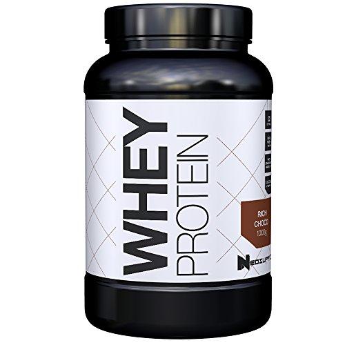 Premium Whey Protein für Muskelaufbau & Abnehmen in leckeren Geschmäckern | Low Carb Eiweiß-Shake, Eiweiß-Pulver mit Aminosäuren (BCAA) | 1kg NeoSupps Protein Pulver – Schokolade / Schoko