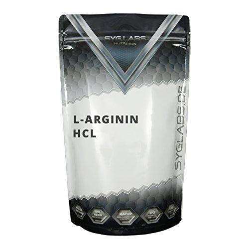 Syglabs Nutrition L-Arginin HCL Pulver, 1er Pack (1 x 1 kg)