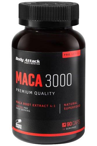 Body Attack Maca 3000 90 Kapseln, 1er Pack (1 x 105 g)