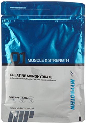 Myprotein Creatine Monohydrate Unflavoured, 1er Pack (1 x 250 g)