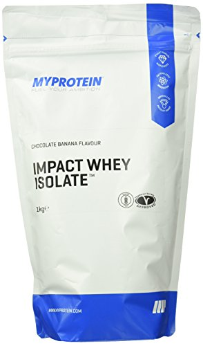 Myprotein Impact Whey Isolate Protein Chocolate Banana, 1er Pack (1 x 1 kg)