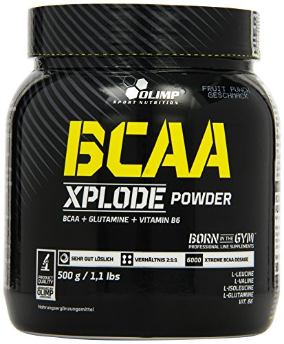 Olimp BCAA Xplode Powder Fruit Punch, 1er Pack (1 x 500 g)