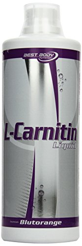 Best Body Nutrition L-Carnitin Liquid mit Carnipure Blutorangen, 1er Pack (1 x 1000 ml)