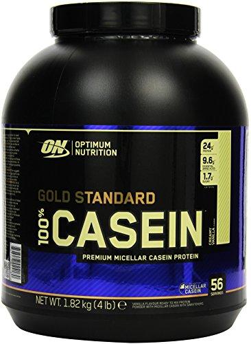 Optimum Nutrition 100% Casein Protein, Vanilla (1 x 1,18 kg)