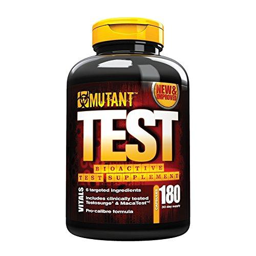 Mutant Test – 180 Kapseln, 1er Pack (1 x 149 g)