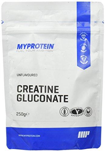 Myprotein Creatine Gluconate, 1er Pack (1 x 250 g)