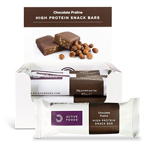 BULK POWDERS Whey Protein Riegel, 12 Stück pro Box, 85 g