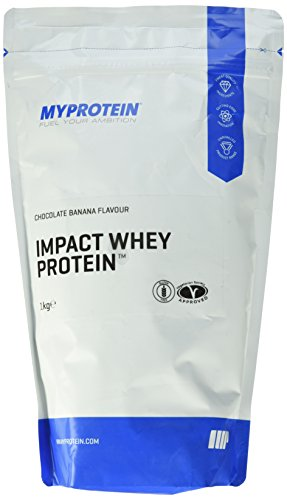 Myprotein Impact Whey Protein Chocolate Banana, 1er Pack (1 x 1 kg)