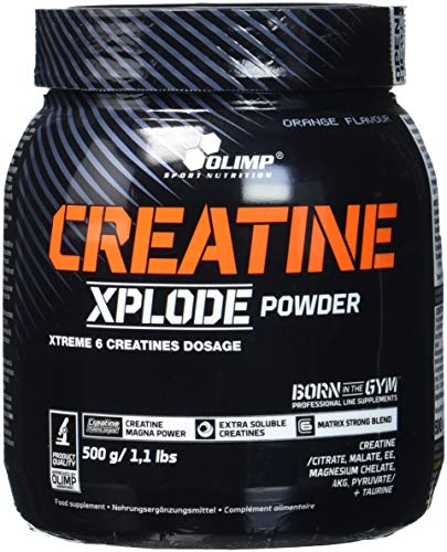 Olimp Creatine Xplode Powder, Orange (1 x 500 g)