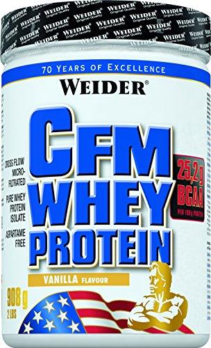 Weider, CFM Whey Protein, Vanille, 1er Pack (1x 908 g)
