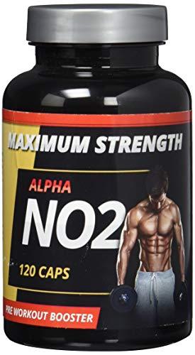 Alpha NO2 – 120 Kapseln – Neue Formel – Original Produkt – Alpha NO2