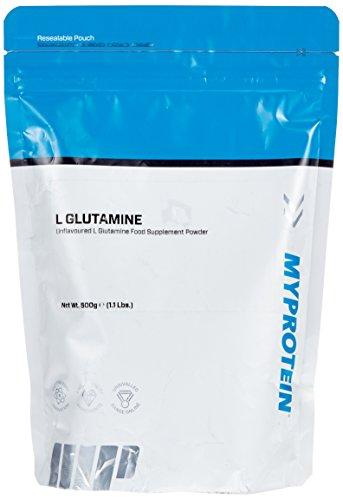 Myprotein L- Glutamine Unflavoured, 1er Pack (1 x 500 g)