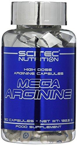 Scitec Nutrition Mega Arginine, 140 Kapseln, 1er Pack (1 x 206,6 g)