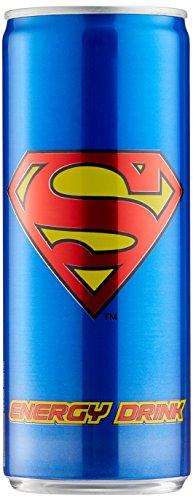 Superman Energy Drink Pfandfrei, 24er Pack (24 x 250 ml)
