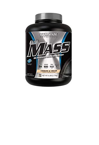 Dymatize Elite Mass, Cookies und Cream, 1er Pack (1 x 2,700 g)