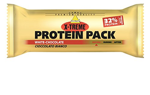 Inkospor X-Treme Protein Pack Riegel, White Chocolate, 24 x 35g