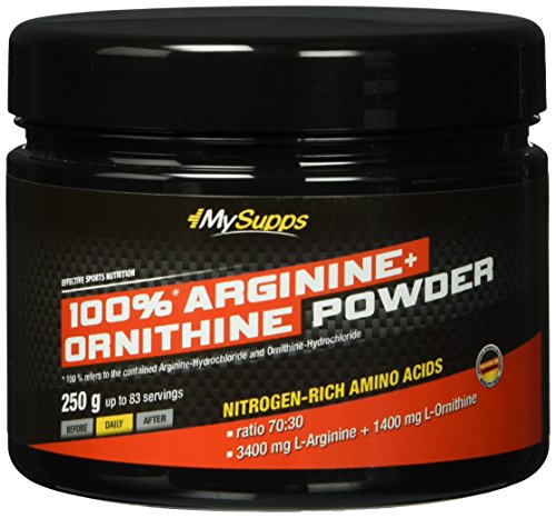 My Supps, Arginine+ Ornithine Powder