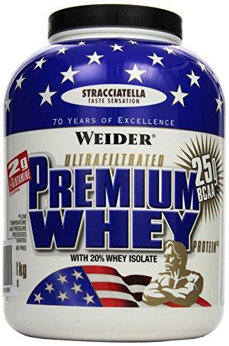 Weider, Premium Whey Protein, Stracciatella, 1er Pack (1 x 2,3 kg)