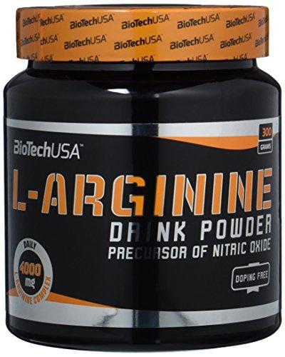 Biotech USA L-Arginine 300 g Pump, Ausdauer, Kraft