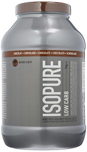 Isopure Zero Sugar Chocolate, 1er Pack (1 x 1 kg)