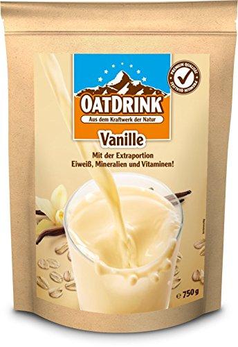 Oat Drink – Premium Shake, Vanille, 1er Pack (1 x 750 g)