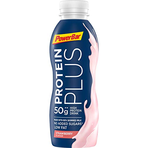 PowerBar ProteinPlus High Protein Sportsmilk – Strawberry (12x 500 ml)