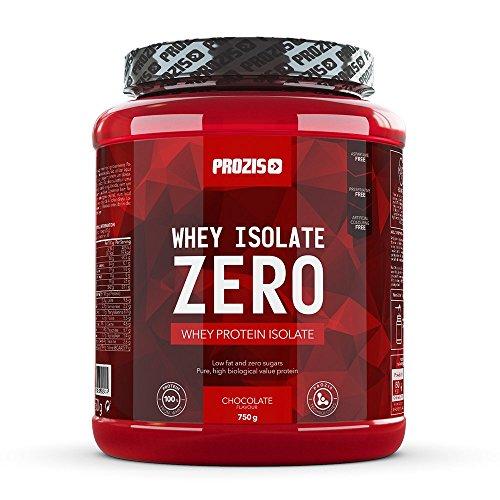 Prozis Zero Whey Protein Isolate Pulver 750g – Bester Vanillegeschmack zum Gewichtsverlust, Muskelerhalt und Bodybuilding – Kohlenhydratarm – 30 Portionen