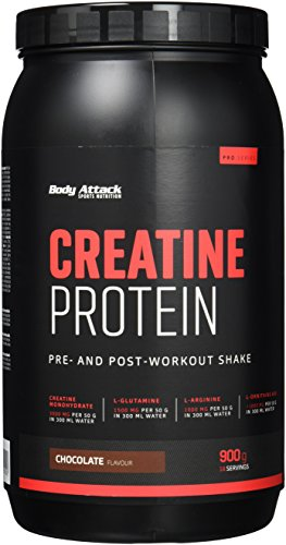 Body Attack Creatine Protein, Schokolade (1 x 900 g)