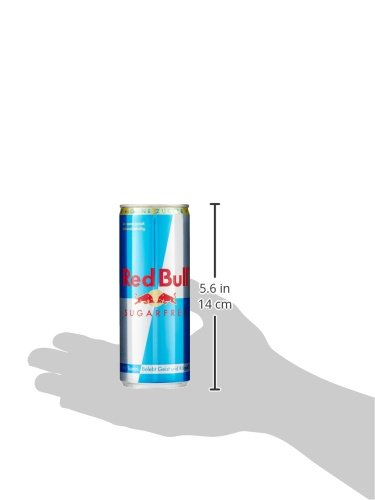 Red Bull Energy Drink Sugarfree 24 x 250 ml Dosen Getränke Zuckerfrei 24er Palette