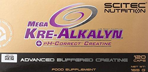 Scitec Nutrition Mega Kre-Alkalyn, 1er Pack (1 x 165 g)