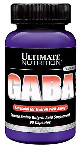Ultimate Nutrition GABA Standard, 1er Pack (1 x 90 Kapseln)