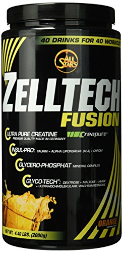 All Stars Zelltech Creatin Formula, Orange, 1er Pack (1 x 2000 g)